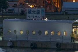 Sightseeing ship terminal