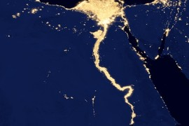 Nile River and Delta