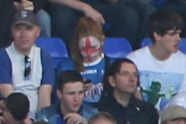 St. George's facepaint