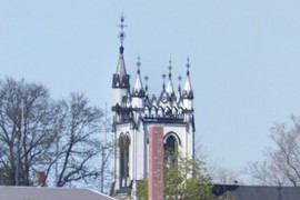 Spires of Sy. John's Anglican Church