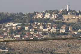 Shilo illegal settlement