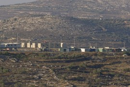 illegal Israeli Military base
