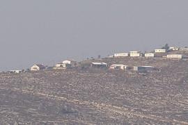 illegal Israeli outpost