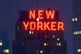 Einen New Yorker...