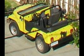 Little Yellow Jeep