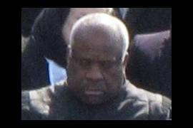 Clarence Thomas Sleeping