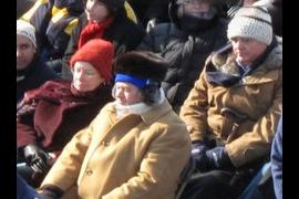 Richard and Marcia at Obama's Inaugural