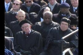 justices thomas and alito nodding off at the inauguration