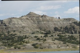 Hell Creek Formation - close up