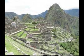 Machu Picchu, Andes Mountain, Peru