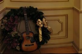 Instrument wreath...