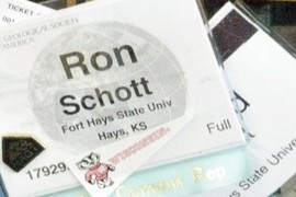 Hello Ron Schott