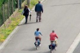heerlijk wandelen en fietsen