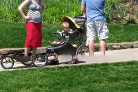 Flintstones stroller