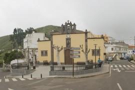 Iglesia de Montaña Alta, Santa María de Guía.