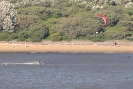 Para-sailing or sufing...