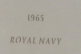 1965 Royal Navy