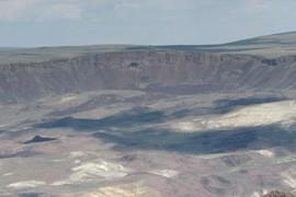 Headscarp of major landslide complex
