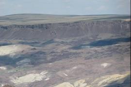 Headscarp of major landslide 2