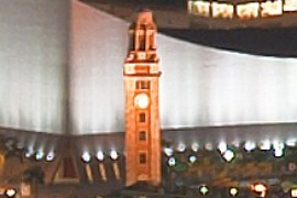 Hong Kong Clock Tower, a Famous Landmark
