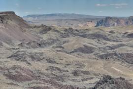 Textbook landslide topography