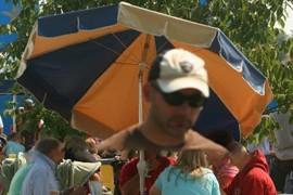 The Man, The Umbrella