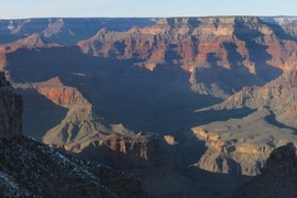 Grand Canyon strata layers