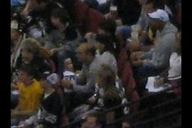 Connor's friends at the game