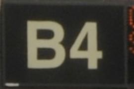 Gate B4