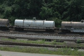 Covered Steel Roll Car