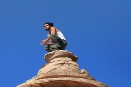 Bedouin climber