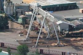 Vaagen's crane
