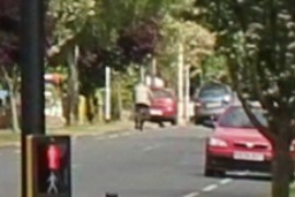 Gilbert Road Cyclist