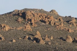 Granite of Aeolian Buttes
