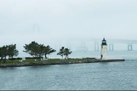 Goat Island Light, Newport Rhode Island