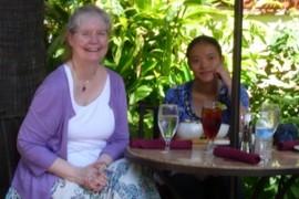 Two Rice University Women
