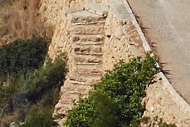 escala de pedra