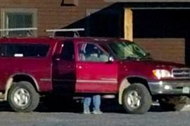 Guy in truck...