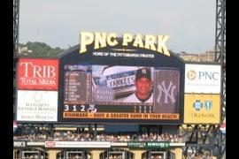 Yankees Bobby Abreu at bat