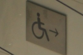 Handicap Ramp Sign