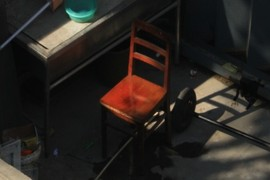 The chair in the sun