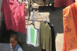 Secando a roupa