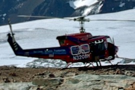The Bell 212 helo