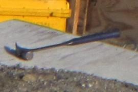 a hammer