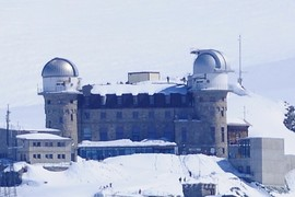 Astronomical observatory at Gornergrat