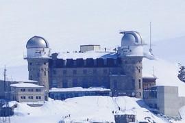 Astronomical observatory at Gornergrat