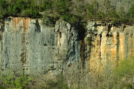 Steel Creek bluff, Buffalo National River