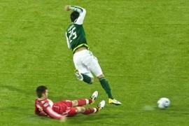 Kick and jump