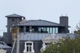 Restaurant panoramique de l'Hotel Chateaubriand