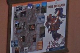 Valle brembana map